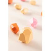 Pedras de empilhamento de crianças de madeira, imagem miniatura 3
