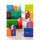 Puzzle de madeira para crianças da cidade, imagem miniatura 5
