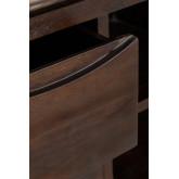 Aparador de madeira Somy Teak, imagem miniatura 6