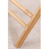 Mesa lateral dobrável Wallis com bandeja em bambu, imagem miniatura 6