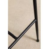 Banquinho alto em Leatherette Ospi, imagem miniatura 6