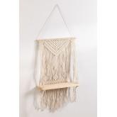 Tapeçaria de algodão Atena com prateleira de parede, imagem miniatura 2