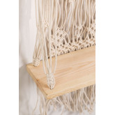 Tapeçaria de algodão Atena com prateleira de parede, imagem miniatura 4