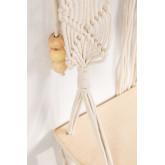 Tapeçaria com Prateleira de Parede em Algodão Luad, imagem miniatura 4