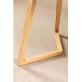 Mesa de Jantar Retangular em Madeira de Freixo (160x80 cm) Keira, imagem miniatura 6