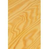 Mesa alta quadrada em madeira e aço (60x60 cm) LIX, imagem miniatura 4