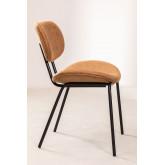 Abix Leatherette Dining Chair, imagem miniatura 2