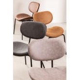 Abix Leatherette Dining Chair, imagem miniatura 6