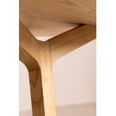 Mesa de jantar redonda de madeira (Ø120 cm) Celest, imagem miniatura 4