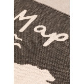 Mapa do tapete de algodão (180x120 cm), imagem miniatura 3