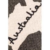 Mapa do tapete de algodão (180x120 cm), imagem miniatura 4