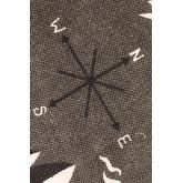 Mapa do tapete de algodão (180x120 cm), imagem miniatura 5