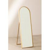 Espelho de pé em madeira de pinho (137x45,5 cm) Naty, imagem miniatura 2