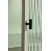 Vitrine de 1 porta em metal e vidro Vertal, imagem miniatura 5