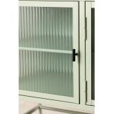 Armário para TV Vertal de metal e vidro, imagem miniatura 4