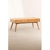 Mesa de centro em madeira de teca de Memphis, imagem miniatura 2