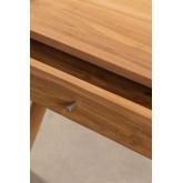 Mesa de centro em madeira de teca de Memphis, imagem miniatura 4