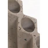 Porta-vela de cimento Yotuel, imagem miniatura 3