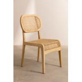 Cadeira de jantar Asly Elm Wood, imagem miniatura 2