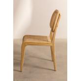 Cadeira de jantar Asly Elm Wood, imagem miniatura 3