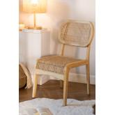 Cadeira de jantar Asly Elm Wood, imagem miniatura 1