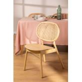Elm Wood Chair Afri, imagem miniatura 1