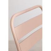 Conjunto de mesa dobrável Janti (60 x 60 cm) e 2 cadeiras de jardim dobráveis Janti, imagem miniatura 5