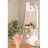 Tapeçaria de algodão Atena com prateleira de parede, imagem miniatura 1