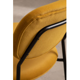 Cadeira de jantar estofada Taris Velvet, imagem miniatura 5