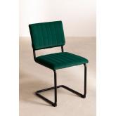 Orwell Velvet Dining Chair, imagem miniatura 2
