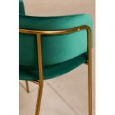Cadeira de jantar de veludo Nalon, imagem miniatura 4