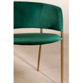 Cadeira de jantar de veludo Nalon, imagem miniatura 5