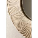 Espelho de parede redondo em Macrame (Ø60 cm) Faustin, imagem miniatura 3
