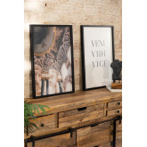 Conjunto de 2 estampas decorativas (50x70 cm) Da vinci, imagem miniatura 1
