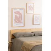 Conjunto de 3 Estampas Decorativas (50x70 e 30x40 cm) Donna, imagem miniatura 5