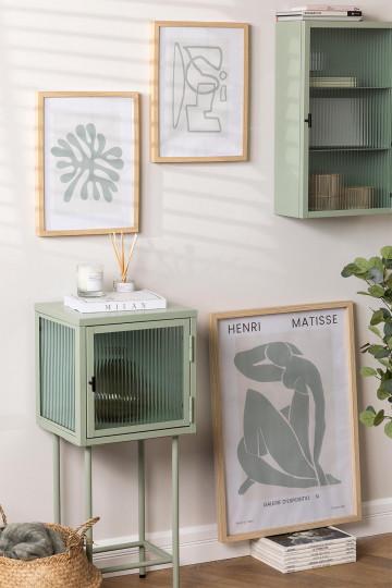 Conjunto de 3 Estampas Decorativas (50x70 e 30x40 cm) Donna