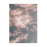 Conjunto de 2 folhas decorativas (50x70 cm) Dream, imagem miniatura 2