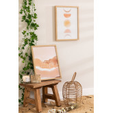 Conjunto de 2 folhas decorativas (30x40 cm) Estel, imagem miniatura 1