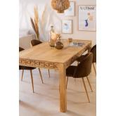 Mesa de jantar retangular (183x94 cm) Alba, imagem miniatura 1