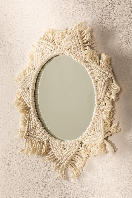 Macrame Wall Mirror Didier, imagem de galeria 1