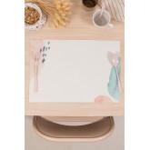 Toalha de mesa individual em vinil bemus, imagem miniatura 1