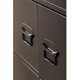 Gaveta de armário de 6 portas de metal Pohpli, imagem miniatura 4