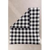 Manta xadrez de algodão kalai, imagem miniatura 2