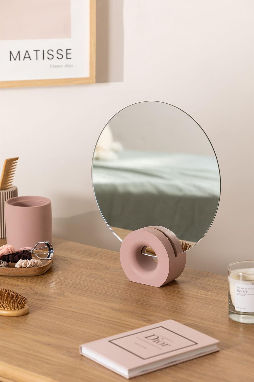 Espelho de mesa Nives, imagem de galeria 1