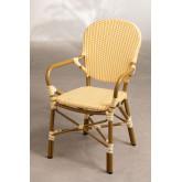 Cadeira de jardim em vime sintético Alisa, imagem miniatura 2