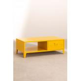 Mesa de centro com armário de metal Pohpli, imagem miniatura 2
