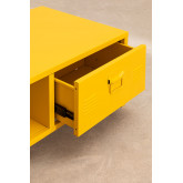 Mesa de centro com armário de metal Pohpli, imagem miniatura 4
