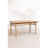 Mesa de bambu (150x80 cm) Marilin, imagem miniatura 2