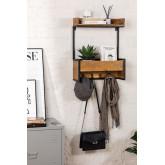 Cabide de parede de madeira Selan, imagem miniatura 1