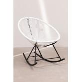 Conjunto de 2 cadeiras de balanço e mesa de Acapulco, imagem miniatura 3